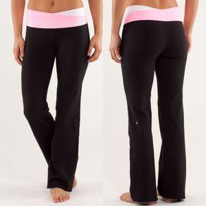 Lululemon Astro pants 2 black pink sweatpants